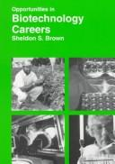 Download Opportunities in biotechnology careers