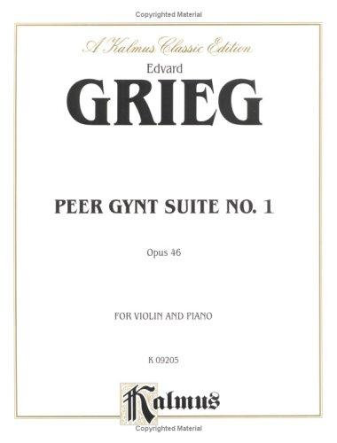 Download Peer Gynt Suite No. 1, Op. 46 (Kalmus Edition)