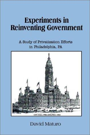 Experiments in Reinventing Government