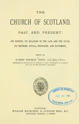 Download The Church of Scotland, past and present