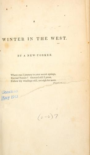 A winter in the West
