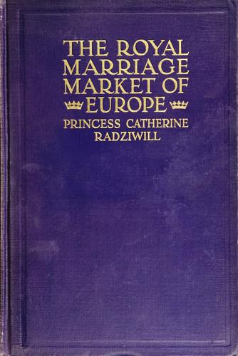 Download The royal marriage market of Europe