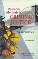 Research methods in criminal justice by Jack D. Fitzgerald