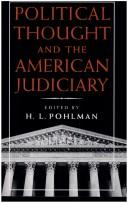 Image 0 of Political Thought and the American Judiciary