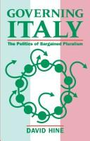 Governing Italy by David Hine