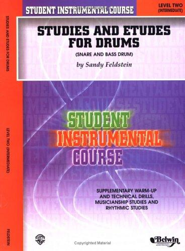 Studies and Etudes for Drum, Level II by Saul Feldstein